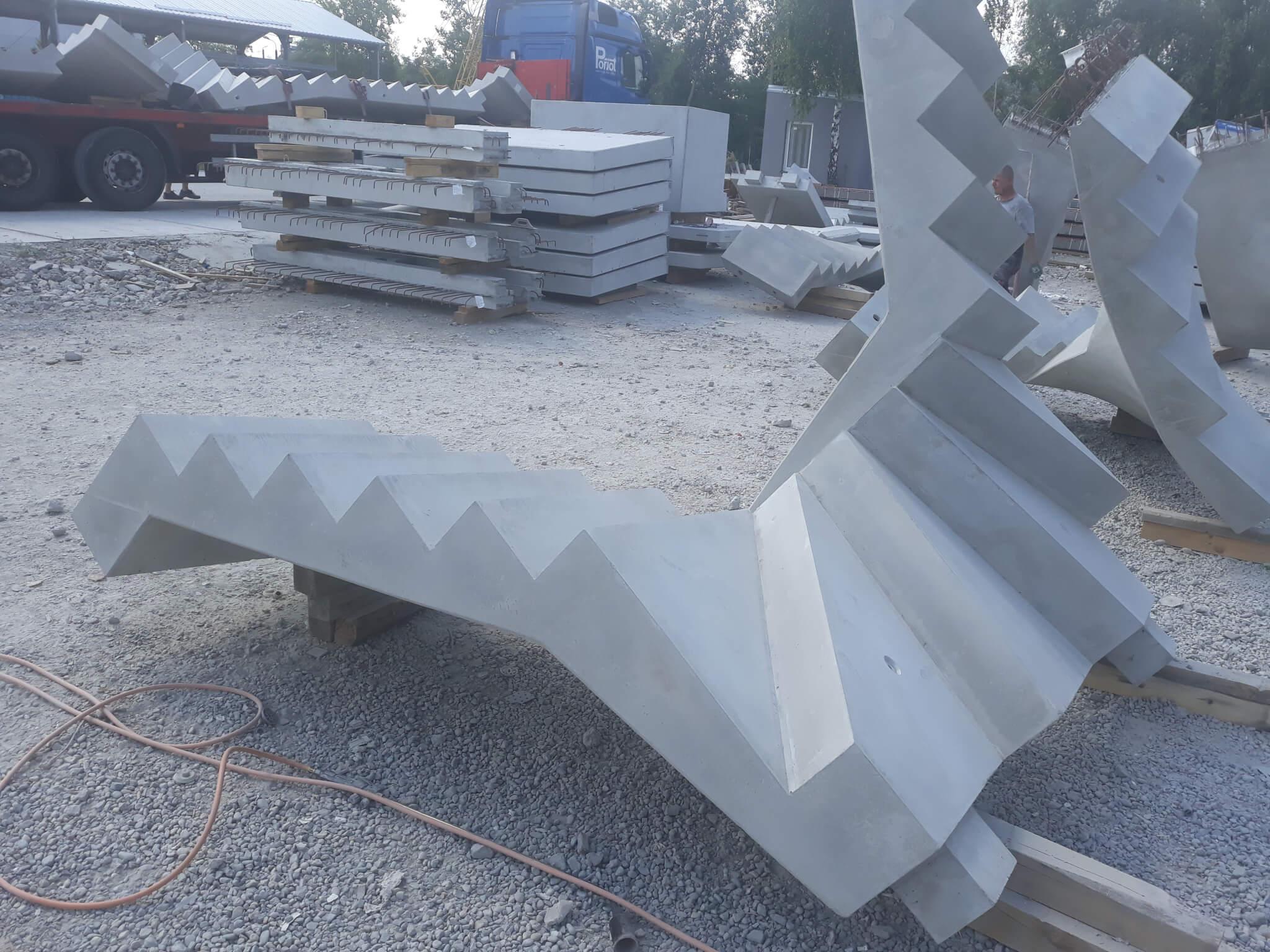 schody prefabrykowane zabiegowe scaled Schody prefabrykowane zabiegowe